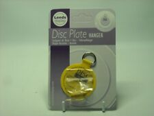 """ONE SMALL 2"""" ADHESIVE DISC WALL HANGER & HOOK Display Max Plate Size 6"""" and 1KG"""