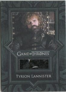 GAME OF THRONES SEASON 8 - VR17 TYRION LANNISTER RELIC CARD