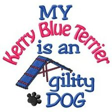 My Kerry Blue Terrier is An Agility Dog Sweatshirt - Dc1954L Size S - Xxl