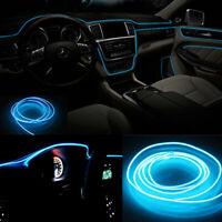 5M Car Interior Trim Door Panel Decorative Atmosphere Cold Light Strip LED Lamp
