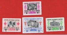 Liberia #B19 #CB4-CB6  VF used  Semi-Postal  Free S/H
