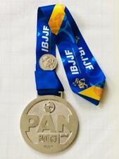 2018 IBJJF PAN Jiu-Jitsu NO-GI Championship SILVER Medal Trophy FREE SHPG