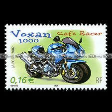 ★ VOXAN V-1000 CAFE RACER ★ FRANCE Timbre Moto Philatélie Motorcycle Stamp #120