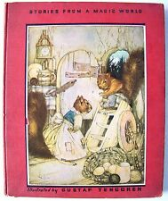 VERY RARE & BEAUTIFUL 1938 GUSTAF TEGGREN'S STORIES FROM A MAGIC WORLD