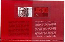 AUSTRALIA 2003 High Court cent PO Pack MUH