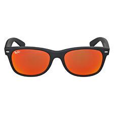 Ray-Ban Wayfarer Orange Flash Sunglasses RB2132 622/69 55