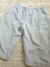 NIKE grey 3/4 shorts xl