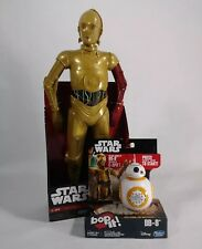 "Star Wars Big Figs 18"" Red Arm C-3PO Action Figure and Bop-it BB-8  BONUS ITEMS"