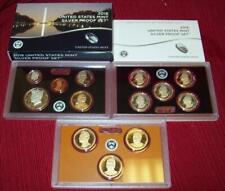 2016 S 13 COINS (7) SILVER PROOF SET ORIGINAL BOX & COA COINS US MINT BEAUTIFUL