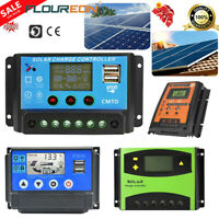 20/70A LCD MPPT Solar Time Controller Panel Battery Charge Regulator Dual-USB AU