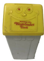 1975 McDonald's McDonaldland Coin Wastebasket Bank Vintage Happy Meal Toy