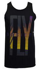 FLY Society Paradise Men Black/Purple Tank Top Medium (Med)