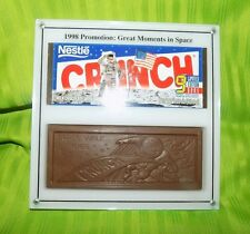Rare! 1998 moments in space Crunch 9 limited edition bars