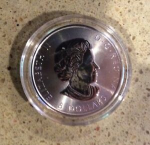 2016  1 1/2 oz Canadian Falcon $8 (1.5 Ounce)  .9999 Silver (Encapsulated)