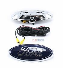 Echomaster PCAM-FDL Emblem-Mount Rear View Backup Camera for Ford F-Series