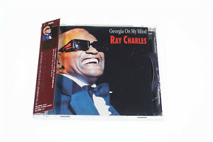 RAY CHARLES-GEORGIA ON MY MIND JOKER INTERNATIONAL CD JAPAN OBI A7477