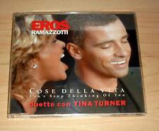 CD Maxi-Single - Eros Ramazzotti + Tina Turner - Cose della vita
