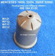 MERCEDES 190SL 230SL 220SE 300SE  oil filter housing aluminum