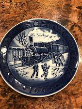 Vintage Royal Copenhagen Plate Train 1993