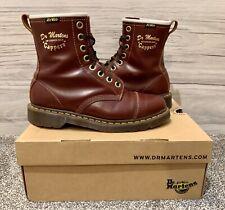 Dr. Martens Cappers Cherry Red Boots UK 8 EU 42 US 9 M US 10 L