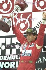 Ayrton Senna McLaren MP4/8 Winner Japanese Grand Prix 1993 Photograph 2