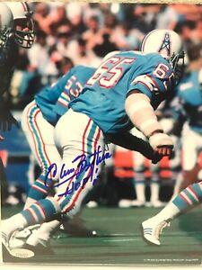Elvin Bethea signed Houston Oilers 8x10 Photo Tristar