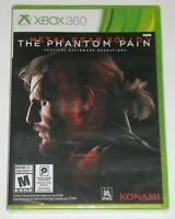 Xbox 360 Video Game - Metal Gear Solid V: The Phantom Pain (New)