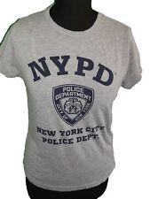 GREY ' NEW YORK POLICE DEPARTMENT ' TOP - UK Size 10