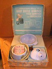 Vintage, Hankscraft, Baby Bottle Warmer, Food Warmer, Vaporizer, with tags, box