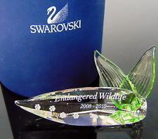 Scs Swarovski Endangered Wildlife Title Plaque Paw Prints 2008-2010 Paperweight!