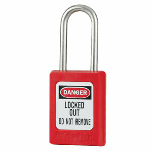 MasterLock S31 Thermoplastic Safety Padlock Lockout (BOX OF 6)  | AUTH. DEALER