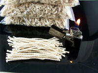 50PCS Braided Cotton Core Candle Making Wick for Oil or Kerosene Lamps
