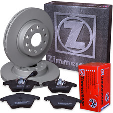 Audi TT 2,0 TFSI (FV3-FV9) )Zimmermann komplett Kit Bremsscheiben Bremsbeläge