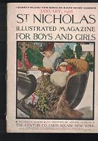 St Nicholas Magazine January 1908 Teddy Roosevelt Ralph Henry Barbour