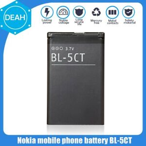 BL-5CT BL 5CT BL5CT Replacement Phone Battery For Nokia 3720 1050mAh 1PCS 3.7V