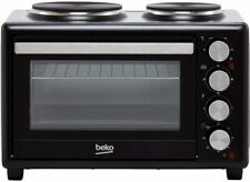 Beko MSH28B Mini Oven and Grill with Double Hob