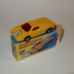 Matchbox Superfast 27 f Lamborghini Countach Superfast with Original Box