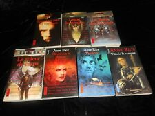 Anne Rice : Cycle Chroniques des vampires (7 tomes pocket)