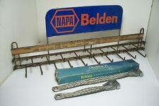 Vintage~ Belden Battery Cables~ Display~Rack~ Napa ~ Sign~ Mopar Braided