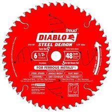 Freud Diablo D0648F 6-1/2-In by 48 Teeth Demon Ferrous Circular Saw Blade