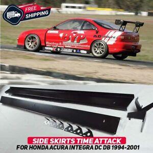 Side Skirts Aluminum For Honda Integra DC 1994-2001 Time Attack Style Body Kit