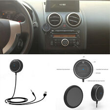 Car Wireless Bluetooth 4.0 Speaker 3.5mm Handsfree AUX Magnetic Base USB Charger