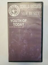 Punk Compilation Vhs - Gorilla Biscuits Youth of Today Side by Side Live Rare
