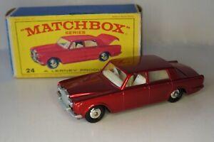 Matchbox Regular wheels n°24 Rolls Royce Silver Shadow - Original box -