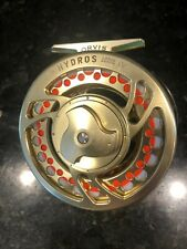 ORVIS HYDROS IV Large Arbor FLY Fishing REEL with WF8F S.A. Mastery Line
