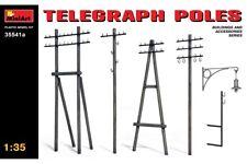 Miniart 35541a 1/35 Telegraph Poles