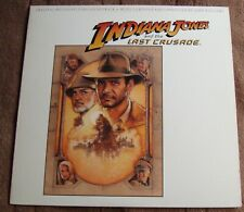 INDIANA JONES AND THE LAST CRUSADE (J. Williams) near mint USA stereo lp (1989)