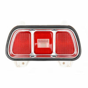 71 72 73 Ford Mustang Tail Light Assembly RH or LH (Lens, Gasket, Housing, Bezel