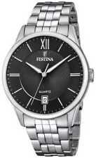 Festina   Heren Armband In Edelstaal   Zwarte F20425/3 Horloge