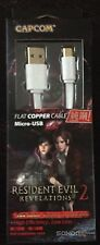 Resident Evil Edition Micro USB Charging Cable White Color NEW